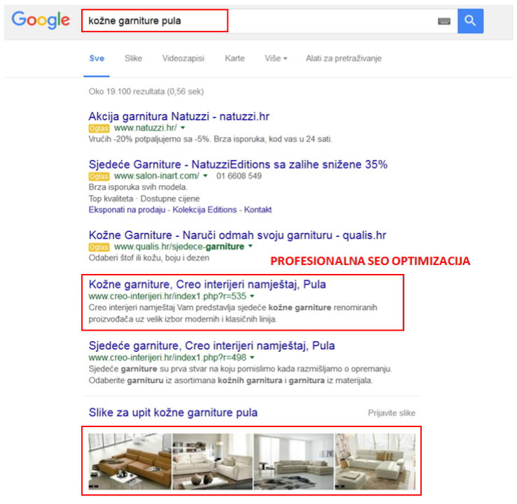 SEO optimizacija, Search Engine Optimization, ProBiz Umag